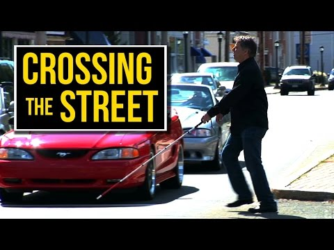 How Blind People Cross The Street Alone Music Videos