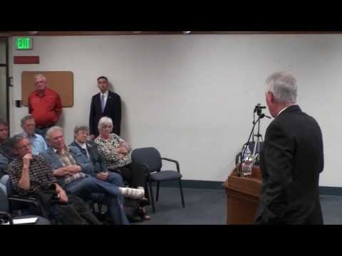 Congressman Tom McClintock Town Hall Meeting in Sonora (11/7/2013) - Part 1 of 3