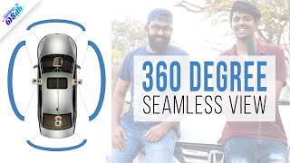 ചുറ്റും കാണാവുന്ന റിവേഴ്സ് ക്യാമറ - 360 Degree Bird's eye view - Malayalam tech video