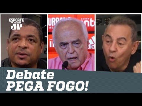 PEGOU FOGO! Vampeta defende Leco, e Flavio Prado DÁ NO MEIO! thumbnail