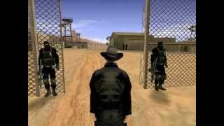 GTA SAN ANDREAS INVASION ALIENIGENA PART 1