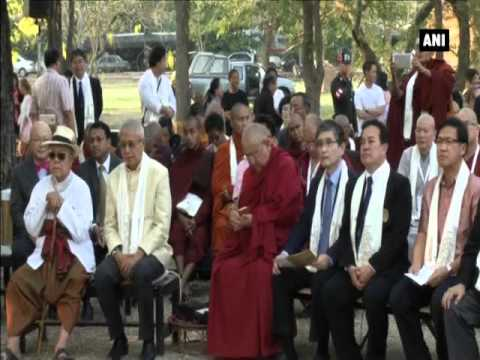 Buddhists gather in Thailand to promote values of Buddhism