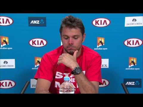 Stanislas Wawrinka press conference (3R) - Australian Open 2015