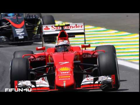 "Kimi Raikkonen team radio brazil: "" f**k this Manors are not moving out of the way!"""