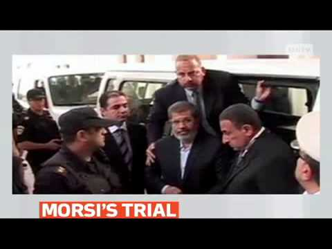 mitv - Cairo Criminal Court adjourned trial of ousted president Mohamed Morsi for Feb