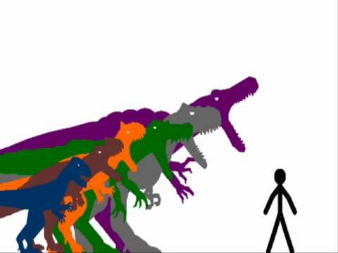 Carnivore Size Comparison Remake - YouTube