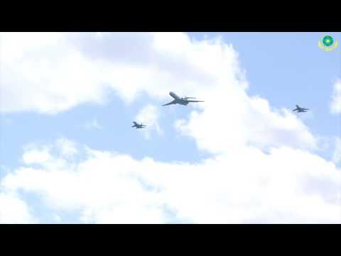 Тренировка летчиков пограничной авиации
