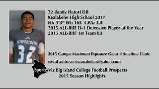 32 Randy Hatori 2015 Season Highlights
