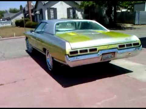 "Clasificalos.com ""For Sale"" 1971 Chevy impala (661) 378 ..."