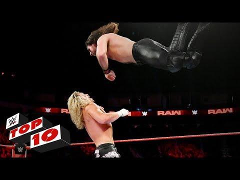 Top 10 Raw moments: WWE Top 10, November 26, 2018 thumbnail