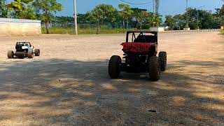 Rc Buggy crawler slayer 2wd vs Rc rock Crawler 4wd 4x4 off road