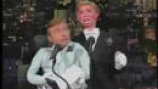Ventriloquist Jim Barber & Seville - Letterman Appearance