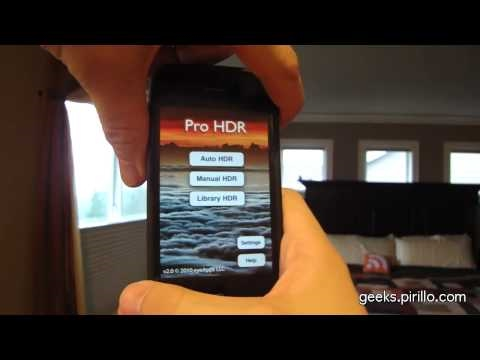 Thumb Review: Tomar fotos HDR con un iPhone 4 / iPod Touch