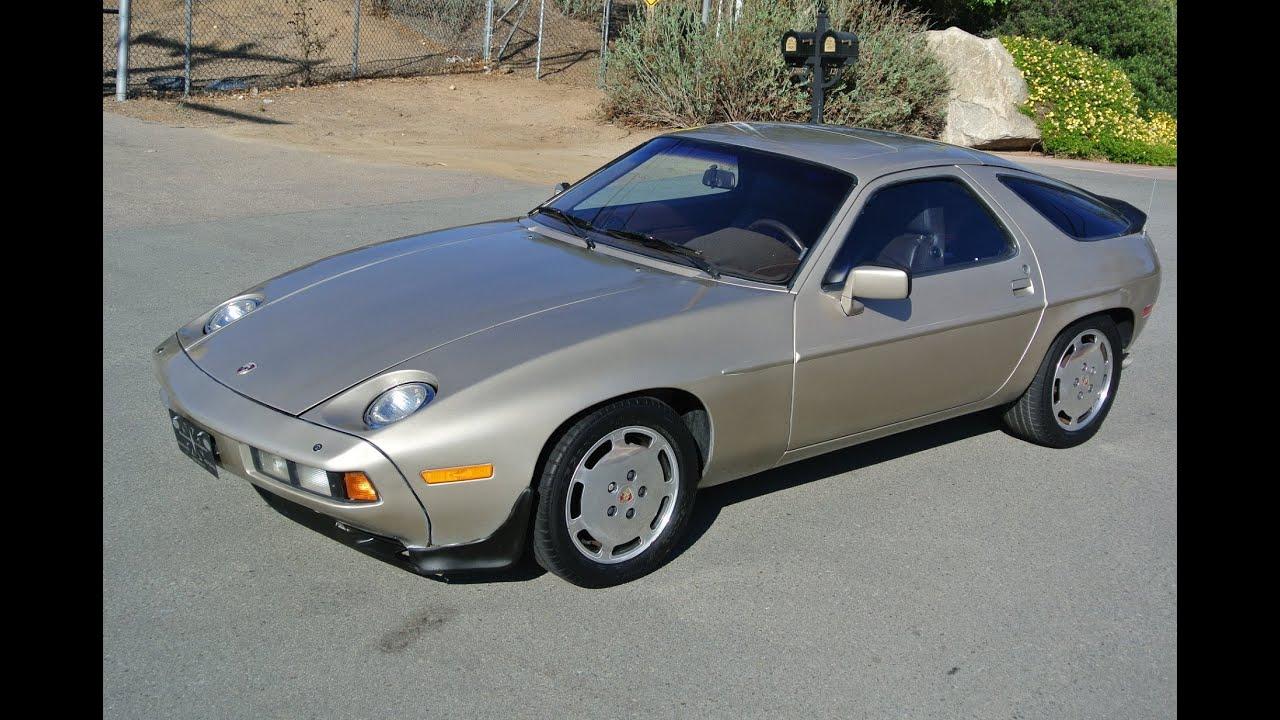 1983 Porsche 928 For Sale V8 Sports Car Affordable Classic