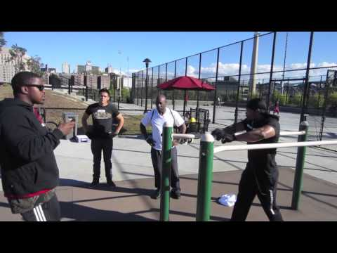 King Gator does Pull-ups,Dips and Push-ups in 2 Minute Max Reps