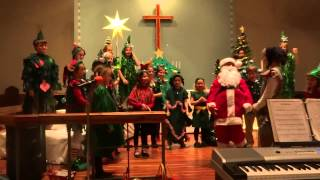 SSES Christmas Program 2013: The Littlest Christmas Tree by 1st - 4th Grades