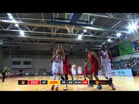 Singapore Slingers vs Saigon Heat - Full Game - 2015-2016 ASEAN Basketball League