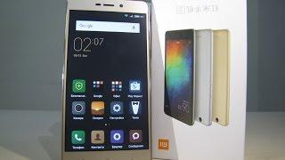 Xiaomi Redmi 3 - лучший бюджетный смартфон в металле!  С мощной батареей