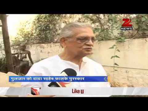 Dadasaheb Phalke Award to be given to Lyricist Gulzar