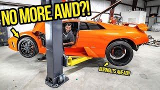 I Transformed My Fast & Furious Lamborghini Into A SAVAGE LIGHTWEIGHT BEAST! (NO MORE AWD!!)