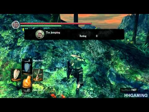Dark Souls DLC Walkthrough Part 1 1080p 16xAA PC Version Artorias Of The Abyss dlc prepare to die