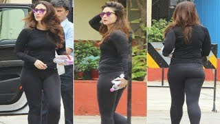 Kareena Kapoor Hot Body In TIGHT Workout Outfit