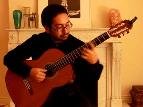 Renato Serrano plays Sonata K 239 by Domenico Scarlatti, arrg. David Russell
