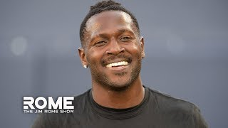 Business Is BOOMING For Antonio Brown And The Patriots | The Jim Rome Show
