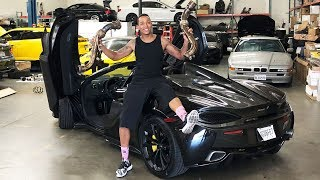 MY MCLAREN GETS A NEW EXHAUST! *FLAME SPITTER*