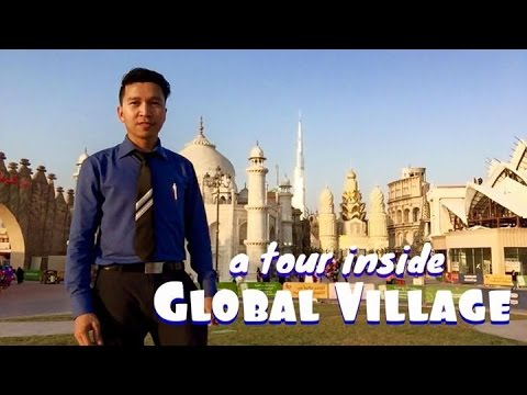 Buhay sa Dubai Daily Vlog || A TOUR INSIDE GLOBAL VILLAGE