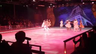 Harmony of the Seas Studio B show travel agent Valentina 201-838-4838