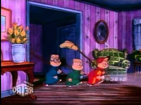 Alvin & the Chipmunks - 3x02 - Who Ghost There (Ghostbusters clip) (mirrorred)