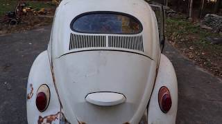 "1967 Vintage Volkswagen Beetle 67 : Vw Bug Oval Window Found  :  "" Holy Grail ? """