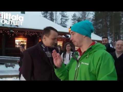 Political Bomb in Lappland (Poliittinen joulupommi Lapissa) - Radoslaw Sikorski vs. Lassi Hurskainen