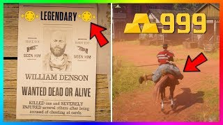 Become A Millionaire QUICK \u0026 EASY - Red Dead Online Ultimate BOUNTY HUNTER Role Money Making Guide!