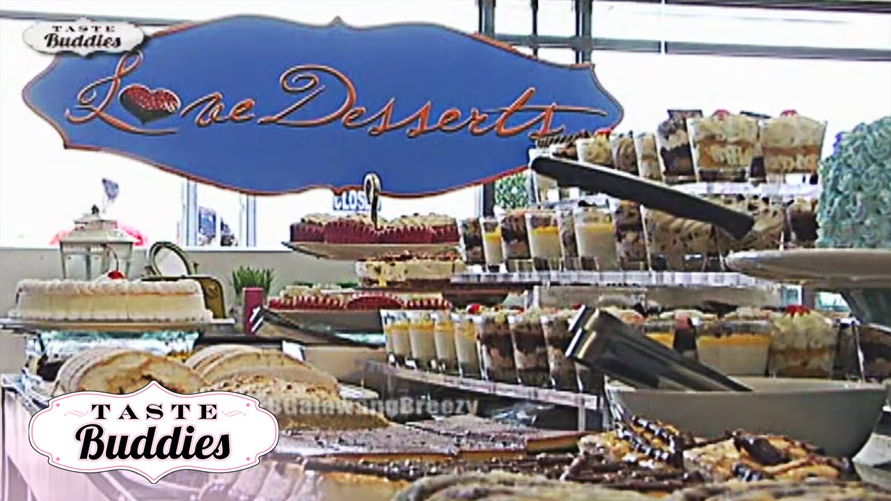 Taste Buddies: Dessert buffet with Solenn Heussaff and Jeric Gonzales