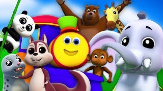 We're Going To The Zoo | Learning Videos For Kids | Preschool Rhymes by Bob The Train