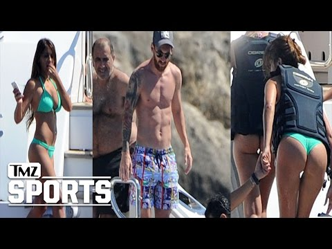 Lionel Messi Tax Fraud -- Destresses on Yacht w/ Smoking Hot Chick