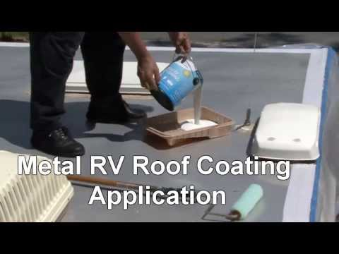 How to Coat a Metal RV Roof with Dicor Products