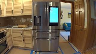 Samsung French Door Smart Fridge with Home Hub