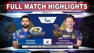 M05: KKR vs MI – Match Highlights
