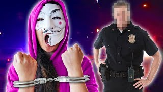 HACKER GIRL ARRESTED! PZ4 FRAMED by Project Zorgo!