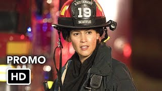 Station 19 (ABC) Promo HD - Grey's Anatomy Firefighter Spinoff