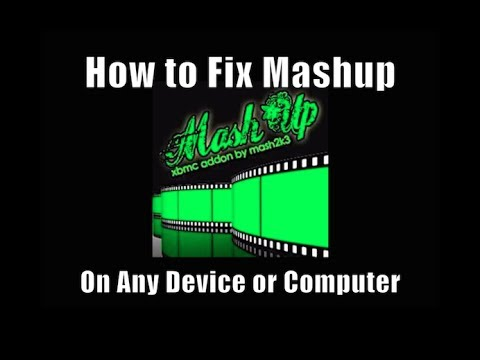 How to Fix MashUp on XBMC - Installation Fix (May 2014)