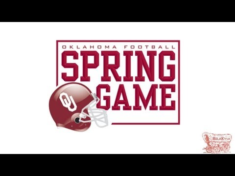 Oklahoma Spring Game Highlights - 04/13/13 (HD)