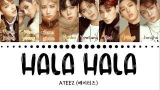 Ateez 에이티즈 39 Hala Hala 39 Hearts Awakened Live Alive Color Coded Eng Han Rom 가사