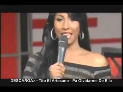Paolita Ex Presentadora de Super Exitos En HD En Camara Lenta Mostrando lo suyo