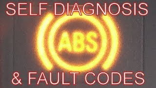 How to Fix the ABS. ABS Warning Light on? Self Diagnosis Test & Fault Codes. Turn Off ABS dash light