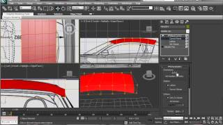 Audi R8 Modeling Tutorial in 3ds max Part 2 HD