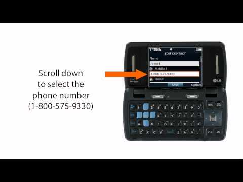 How to set up Press4 on your LG VX9200 enV3